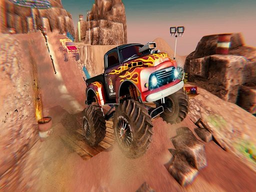 MONSTER Truck Racing : ...