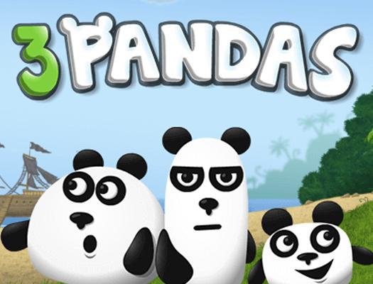 Приключение 3 панды