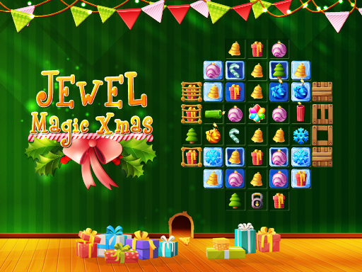 Jewel Magic Xmas online hra