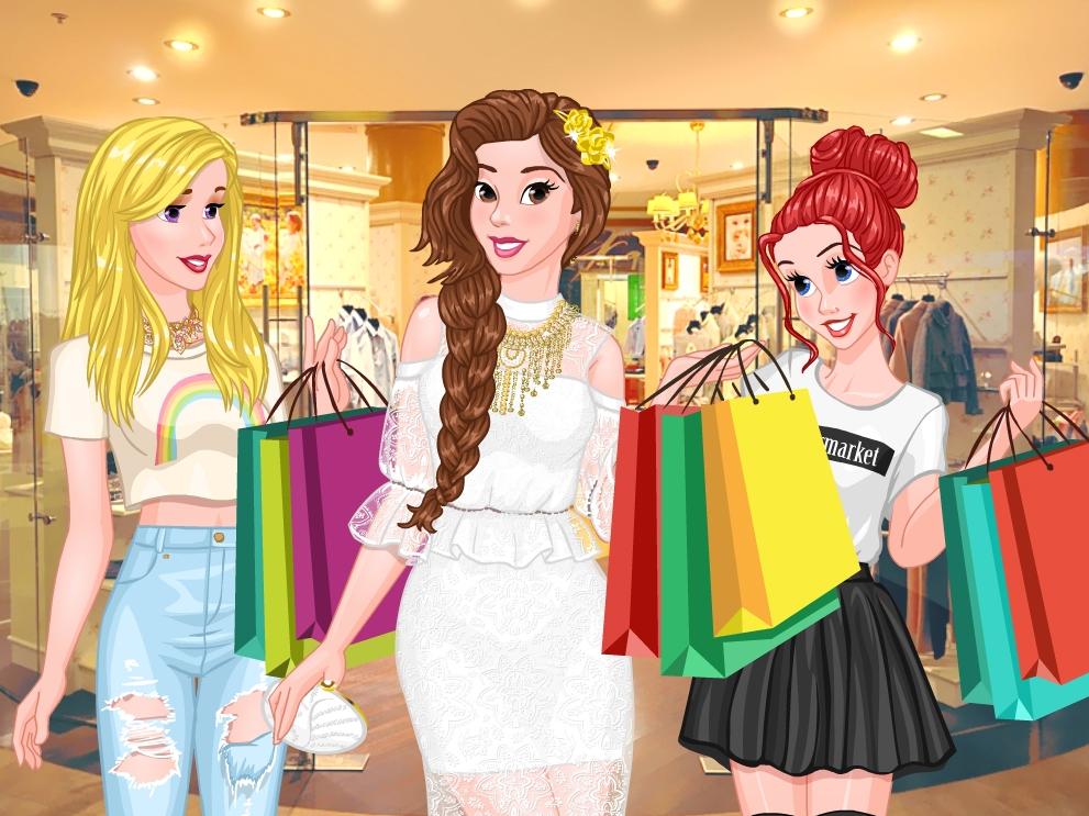 Princess Trendy Shopaholic online hra