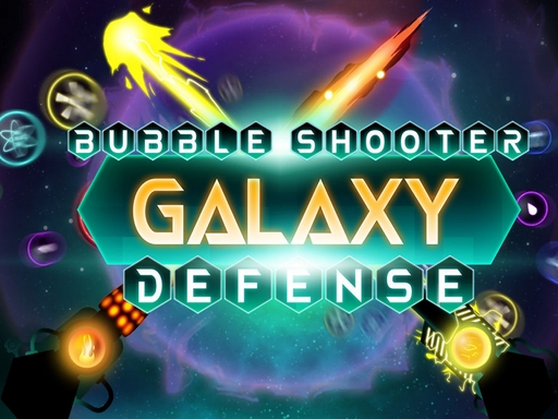 Bubble Shooter Galaxy Defense game