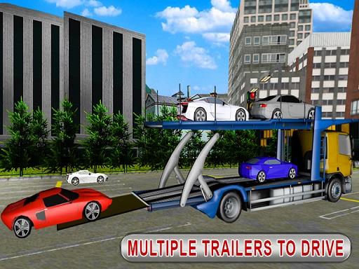 Trailer Cargo Truck ...