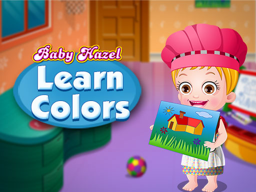 Baby Hazel Learn Colors game