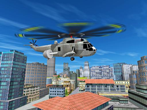 城市直升機飛行