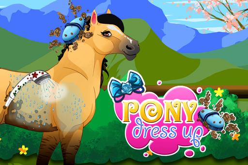 Poney dress up