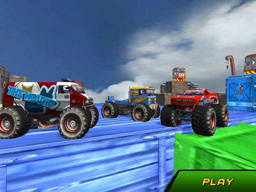 Monster Truck Stunts Sky ...