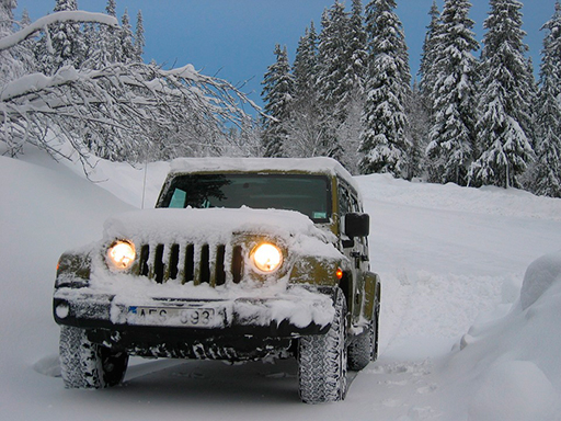 Offroad Snow Jeep ...