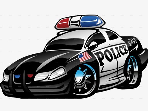Police Cars Memory online hra