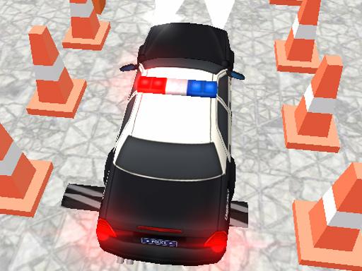 Parking de la police