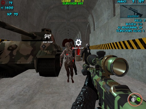 Zombie Apocalypse Bunker ...
