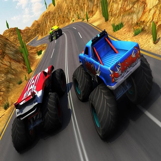 Xtreme Monster Truck  and  Offroad Fun Game