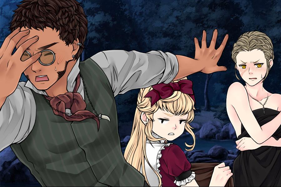 Manga Creator Vampire Hunter page12