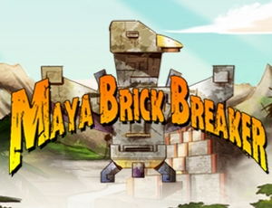 Maya Brick Breaker online hra