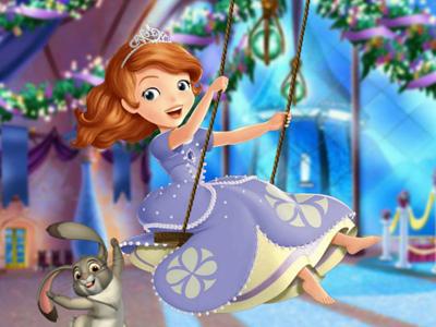 Sofia Once Upon A Princess! online hra