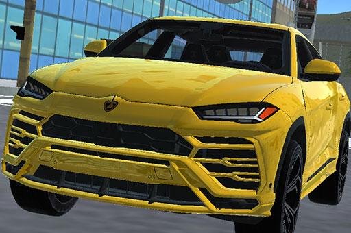Image Super SUV Driving