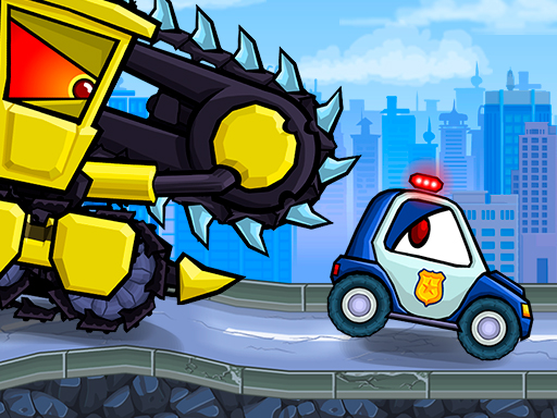 Car Eats Car Evil Cars game
