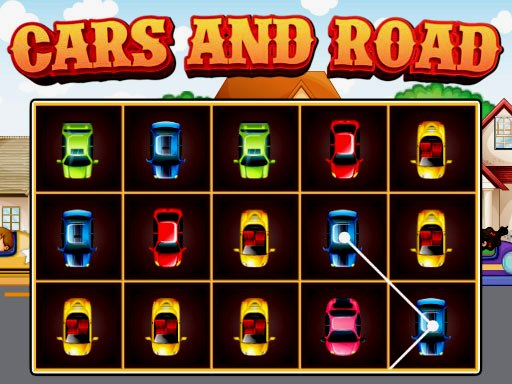 Cars and Road Game