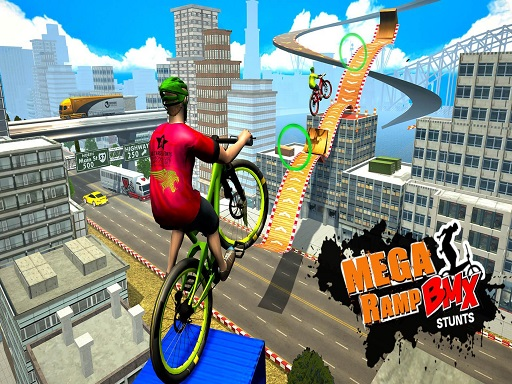 BMX Rider Impossible Stunt ...