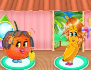 Funny Fruits Hair Salon