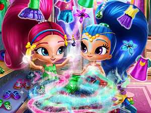Shimmer and Shine Wardrobe Cleaning online hra