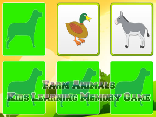Kids Learning Farm Animals ...