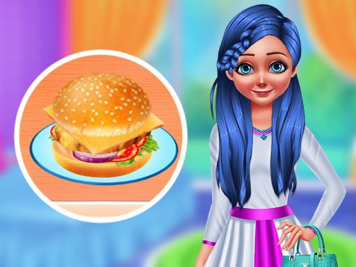 Making Homemade Veg Burger Game