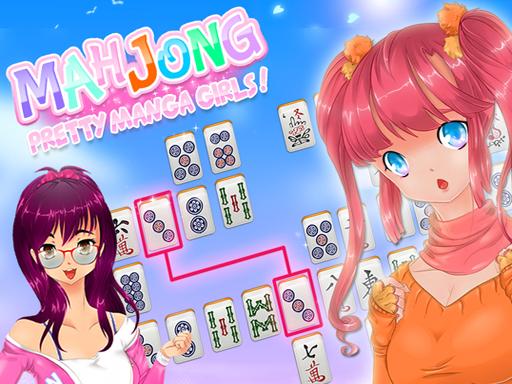 Mahjong Pretty Manga Girls