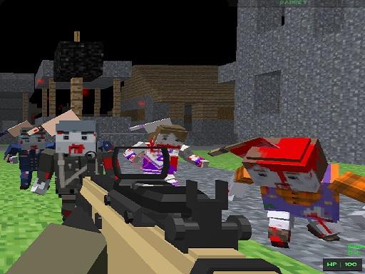 Pixel Apocalypse Infection Begin online hra