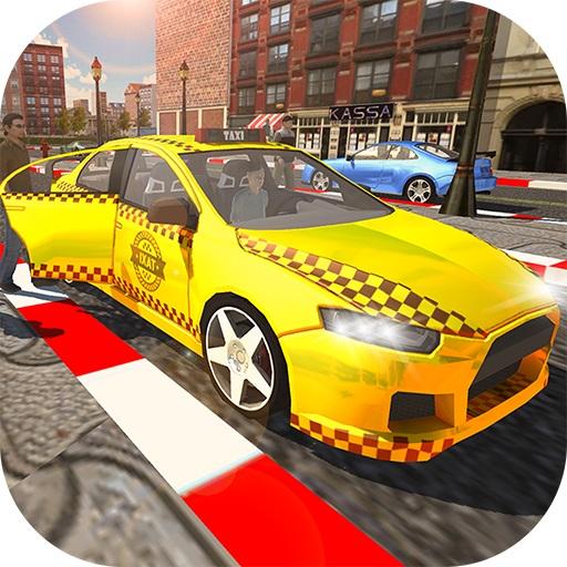 City Taxi Driver Simulator : Car Driving Games