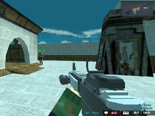 Blocky Shooting Arena 3D ...