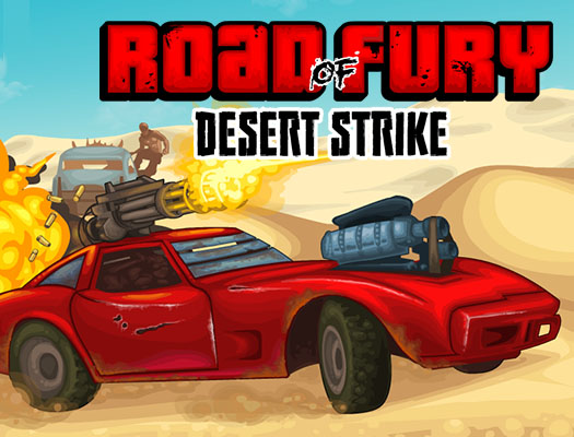 Road of Fury Desert Strike game