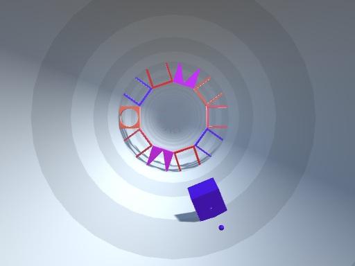 Shape Tunnel online hra