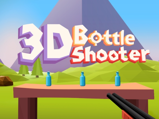 3D Bottle Shooter online hra