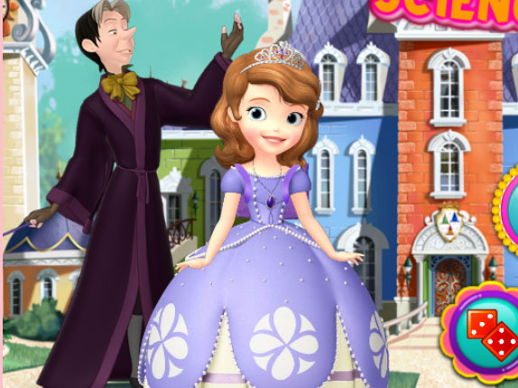 Princess Science Class online hra