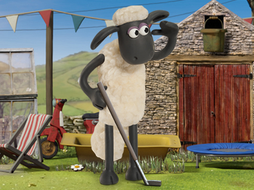 Shaun The Sheep Baahmy Golf