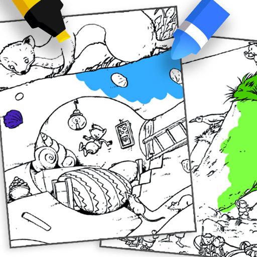 Coloring Gorgels