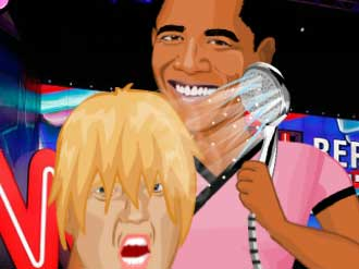 Trump vs Clinton Makeover online hra