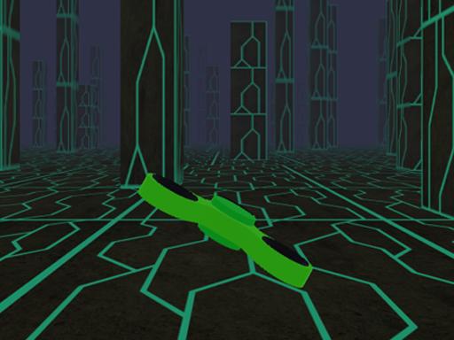 Fidget Spinner Scifi X Racer online hra