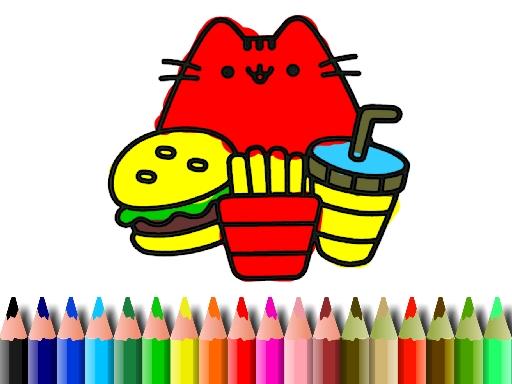 Şirin Kedi Boyama
