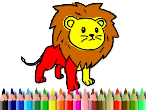 Livre de coloriage bts lion