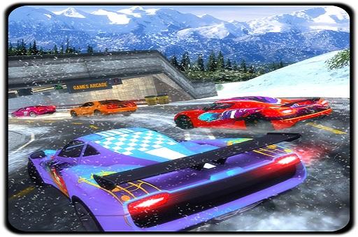 Jogar Snow Driving Car Racer Track Simulator Gratis Online