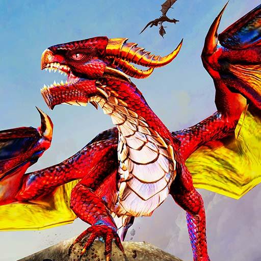 Flying Dragon City Attack
