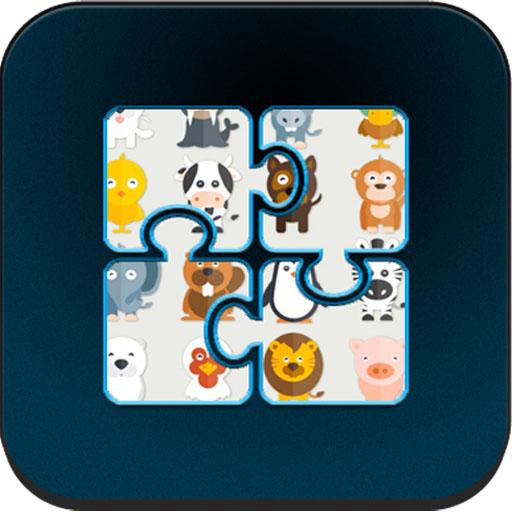 Animal Puzzle Kids Games