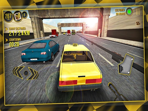 City Taxi Car Simulator 2020