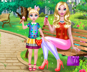 Mommy And Daughter Summer Day 2 online hra