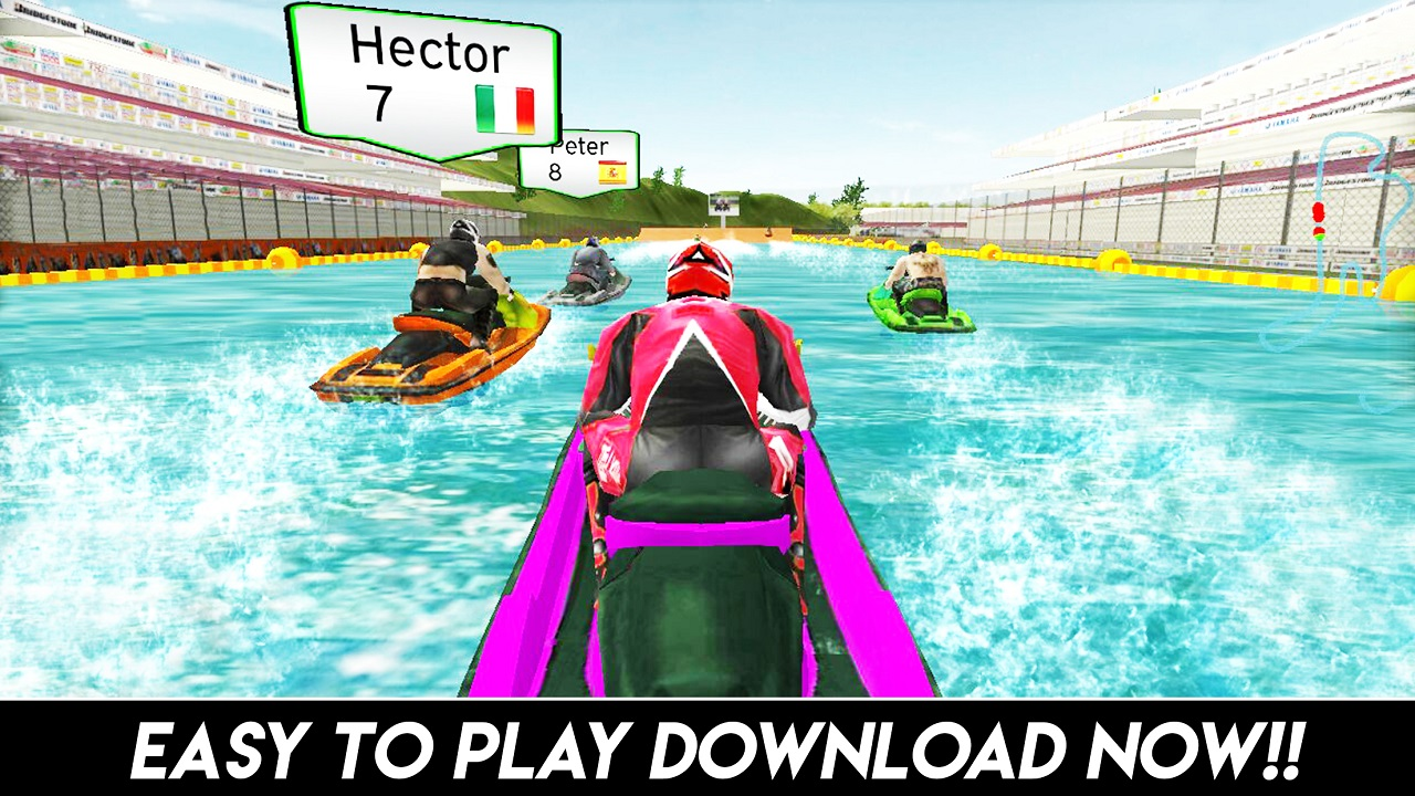 Jet Ski Boat Champion Ship Race : Xtreme Boat Racing