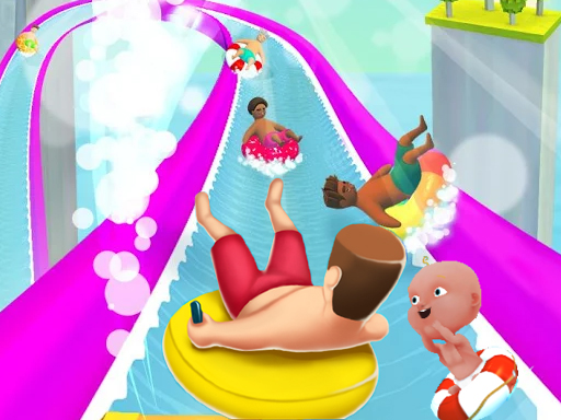 WaterPark Slide.io game