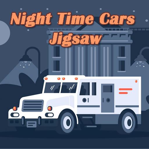 Night Time Cars Jigsaw