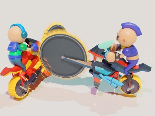 鋸機--Saw Machine.io-這是一款帶有 3D 火柴人模型和車輛的休閒車輛生存遊戲。 您可以使用前方的武器攻擊平台上的其他玩家。 即使您要避免損壞,也不要離開太遠。