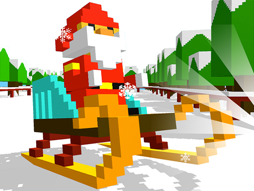 Sliding Santa online hra
